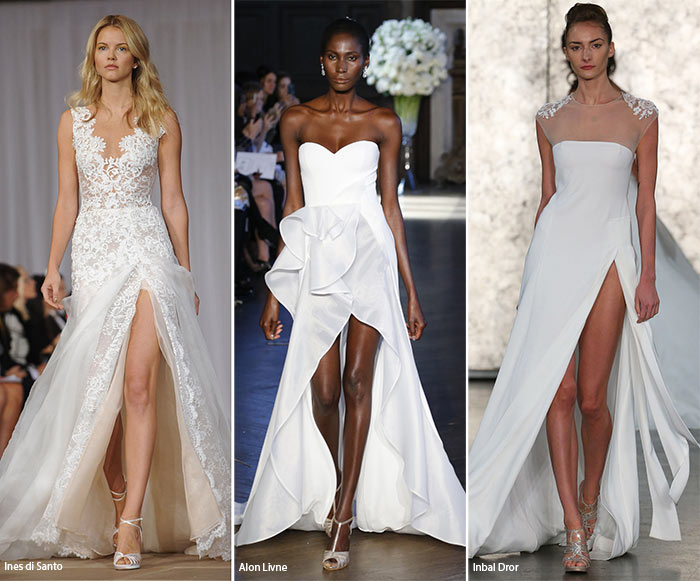 Fall 2016 Bridal Trends: Wedding Dresses with Slits
