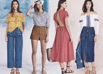 Joyce Lee Debuts Her Madewell Collection for Spring 2016