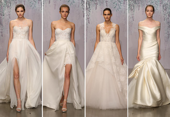 Monique Lhuillier Fall 2016 Bridal Collection