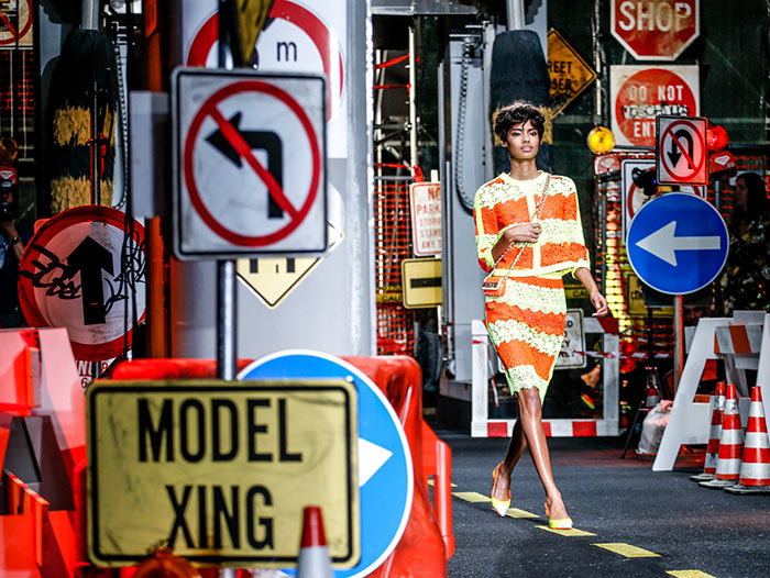 Moschino's Construction Zone