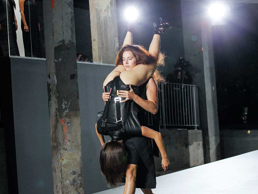 Rick Owens' Human Backpacks