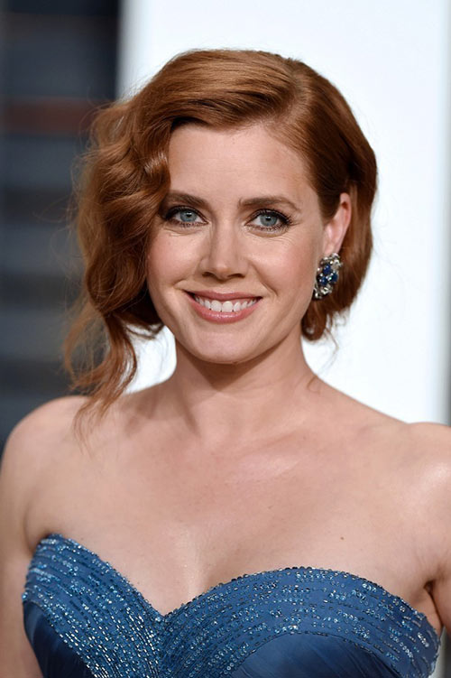 10 Retro Updo Hairstyles: Amy Adams