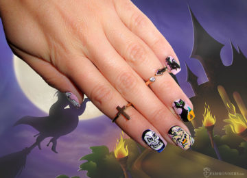 9 Spooky, Kooky Halloween Nail Art Designs