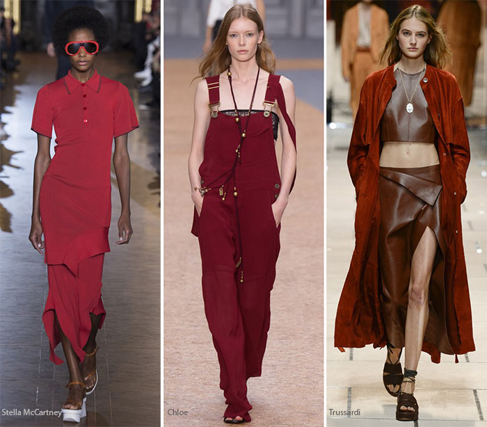 Spring/ Summer 2016 Color Trends: Burgundy