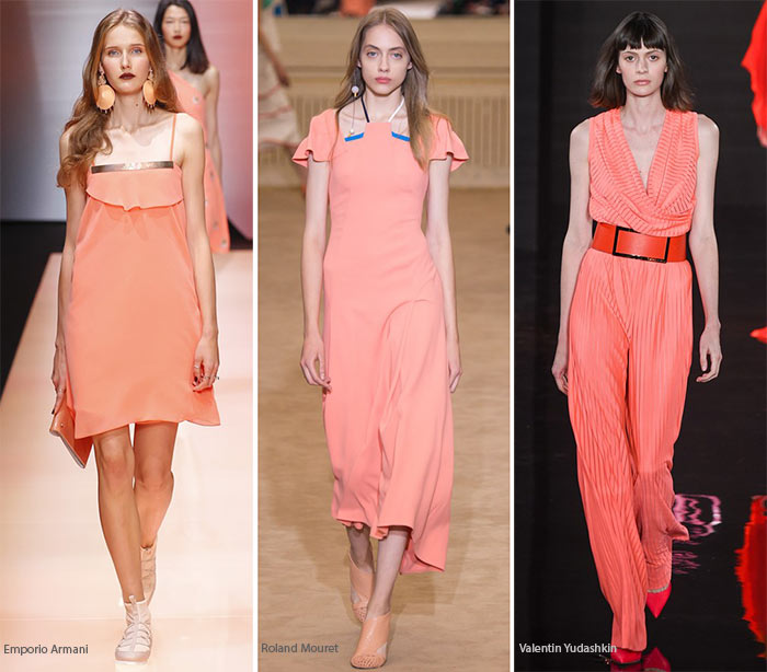 Spring/ Summer 2016 Color Trends: Coral