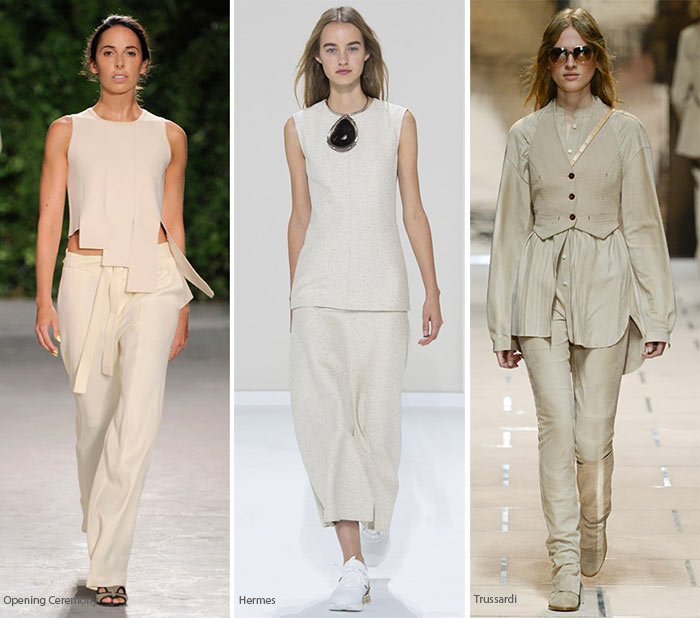 Spring/ Summer 2016 Color Trends: Milky Bone