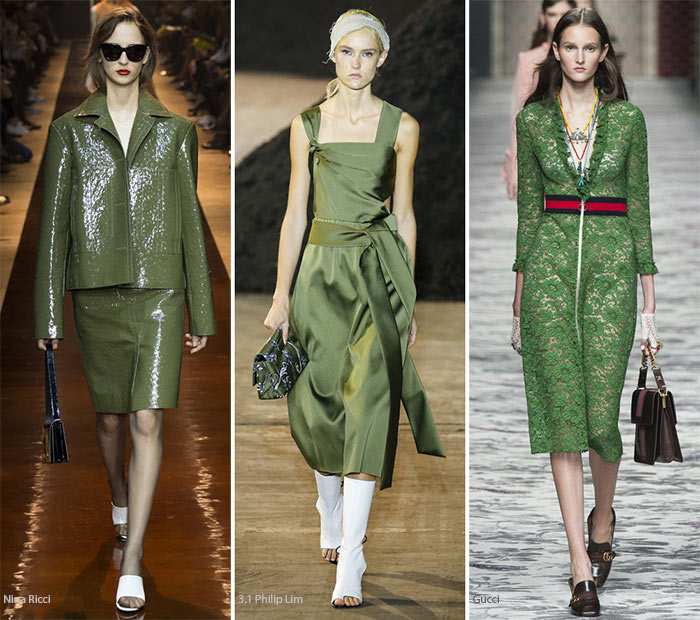 Spring/ Summer 2016 Color Trends: Mossy Green