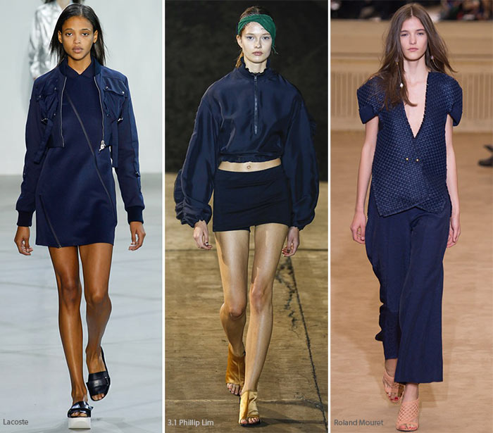 Spring/ Summer 2016 Color Trends: Navy Blue