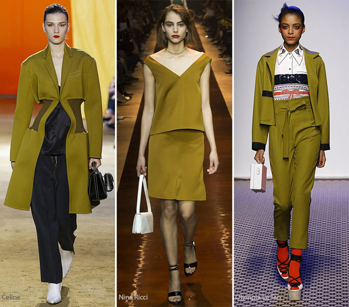 Spring/ Summer 2016 Color Trends: Olive