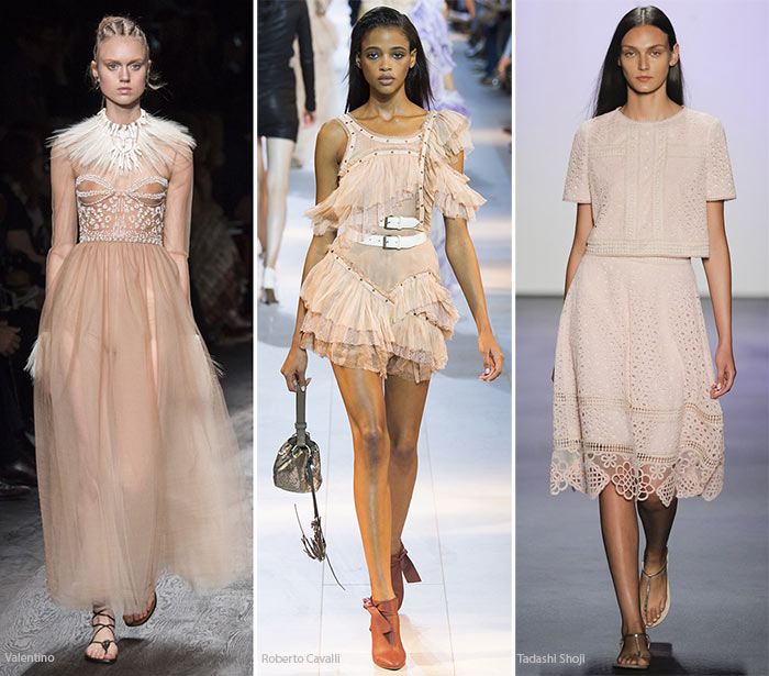 Spring/ Summer 2016 Color Trends: Rose Champagne