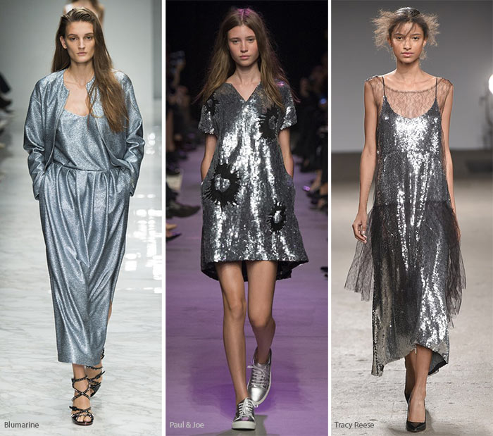 Spring/ Summer 2016 Color Trends: Metallic Silver