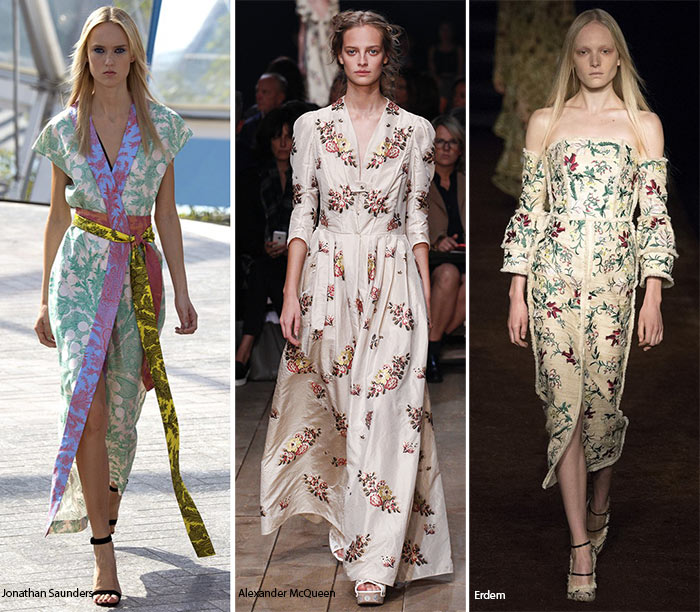 Spring/ Summer 2016 Print Trends: Chintz Patterns