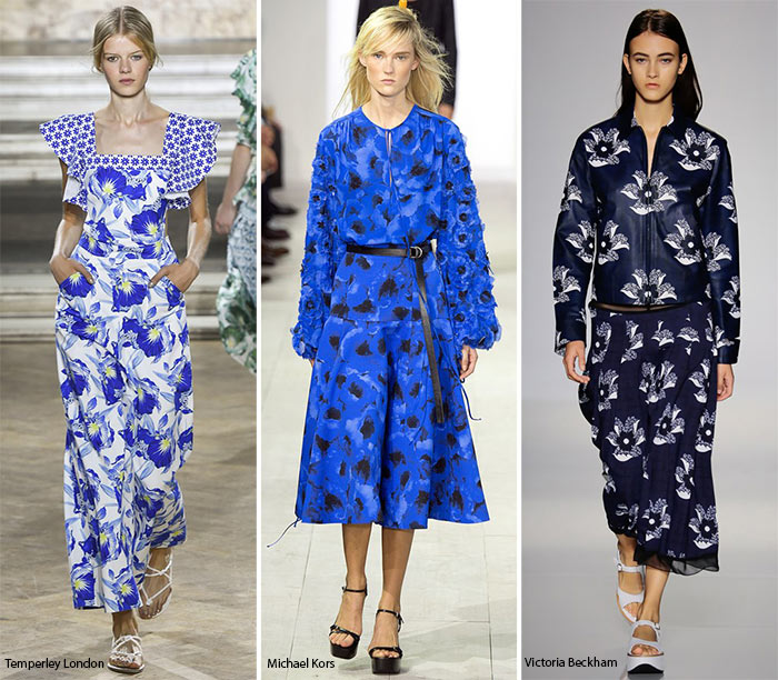 Spring/ Summer 2016 Print Trends: Realistic Floral Patterns