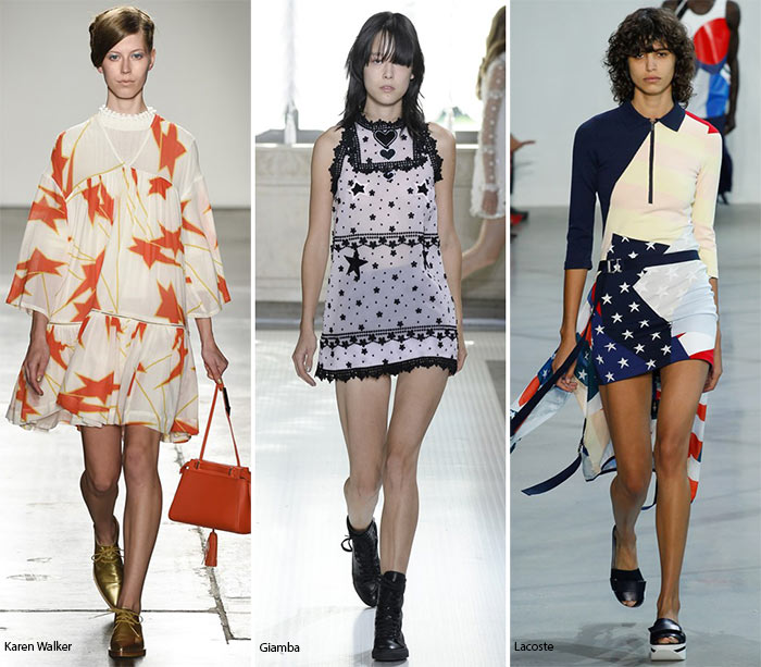 Spring/ Summer 2016 Print Trends: Star Patterns