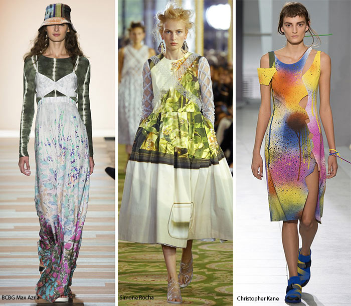 Spring/ Summer 2016 Print Trends: Watercolor Patterns