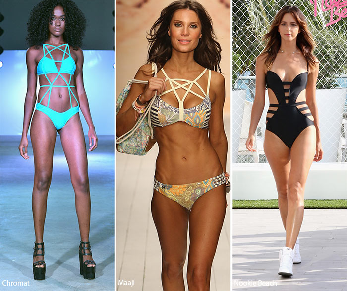 Spring/ Summer 2016 Swimwear Trends: Bondage Swimsuits