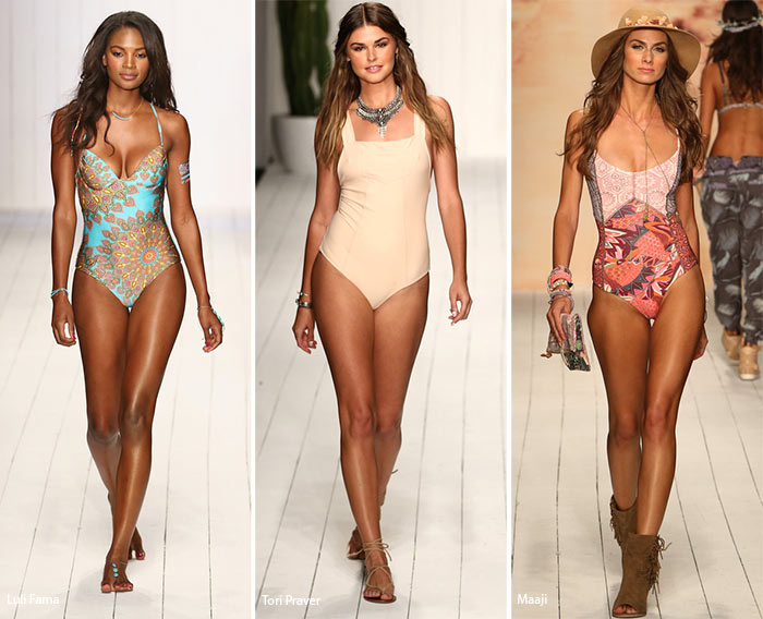 Spring/ Summer 2016 Swimwear Trends: One-Piece Swimsuits
