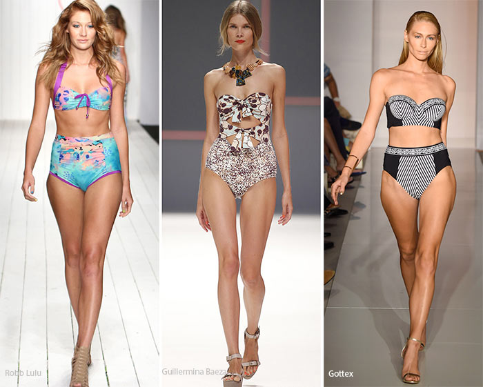 Spring/ Summer 2016 Swimwear Trends: Retro Swimsuits