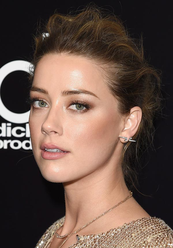 2015 Holiday Party Hairstyles: Amber Heard