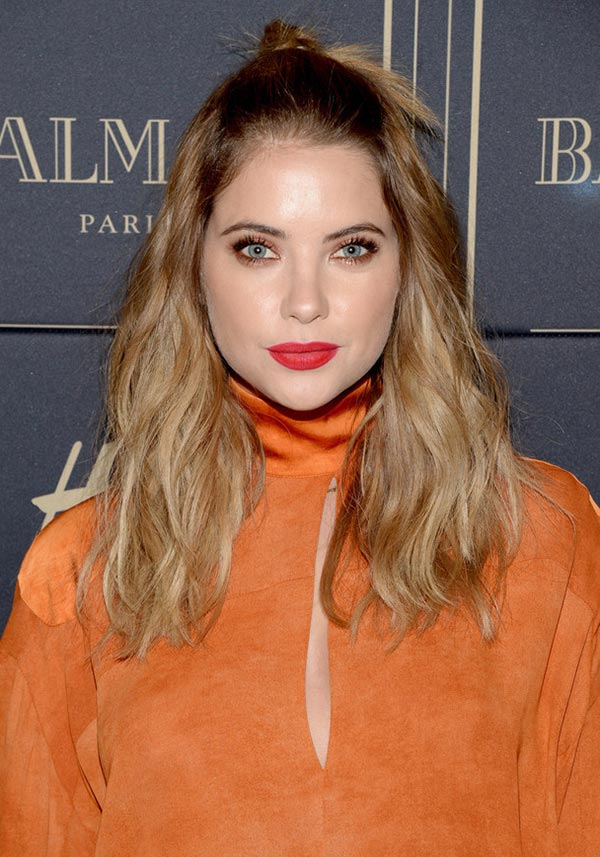 2015 Holiday Party Hairstyles: Ashley Benson