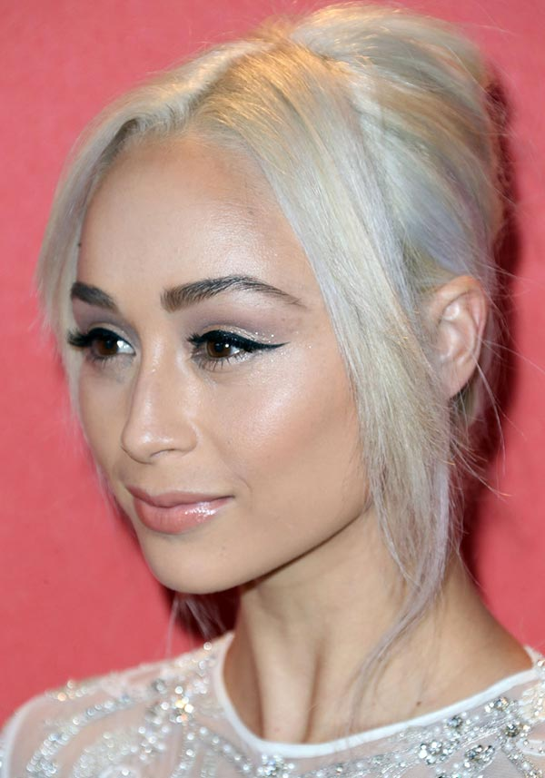 2015 Holiday Party Hairstyles: Cara Santana