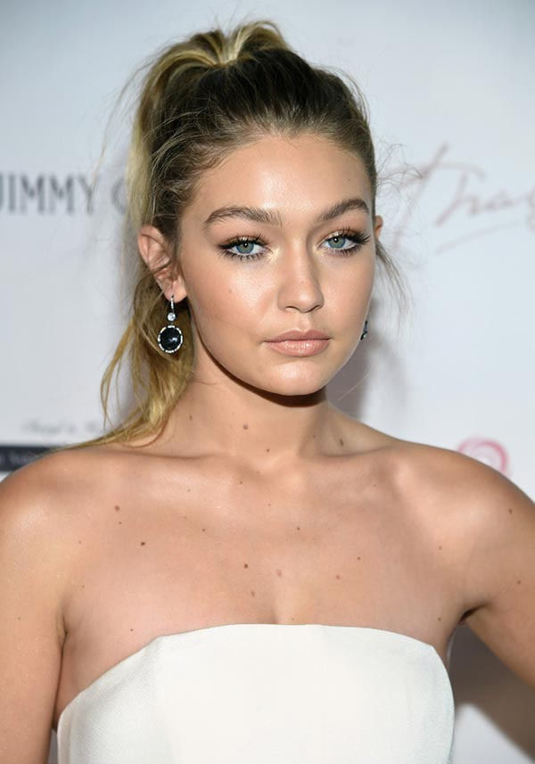 2015 Holiday Party Hairstyles: Gigi Hadid