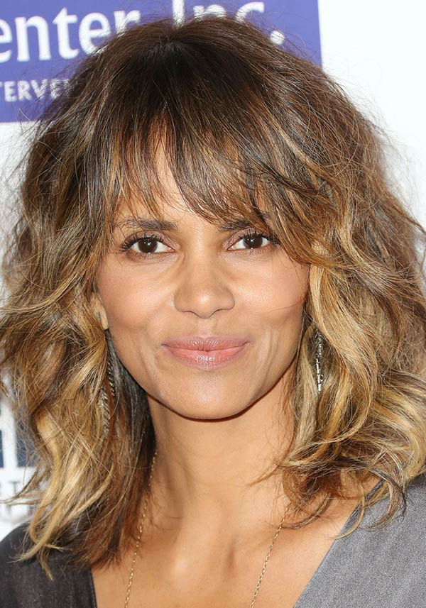2015 Holiday Party Hairstyles: Halle Berry