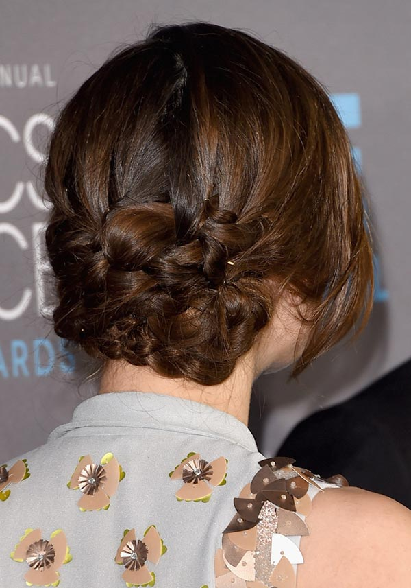 2015 Holiday Party Hairstyles: Keira Knightley