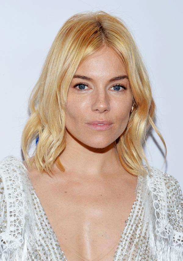 2015 Holiday Party Hairstyles: Sienna Miller