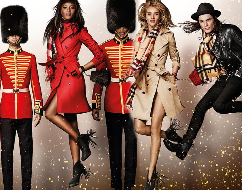 Burberry Holiday 2015 Campaign
