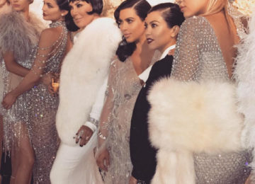 Kris Jenner's Great Gatsby Themed Birthday and Her Daughters' Cool Present