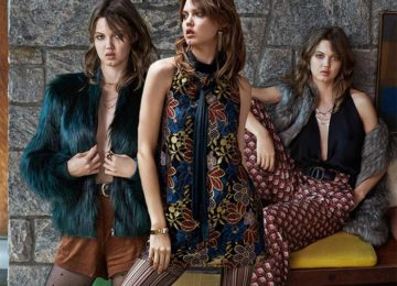 Lindsey Wixon's Urban Outfitters Holiday 2015 Looks