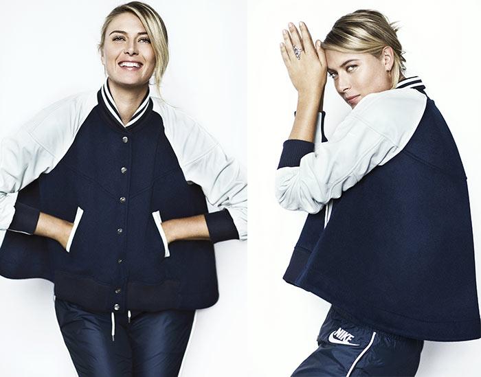 Maria Sharapova Models The New NikeLab x Sacai Collection