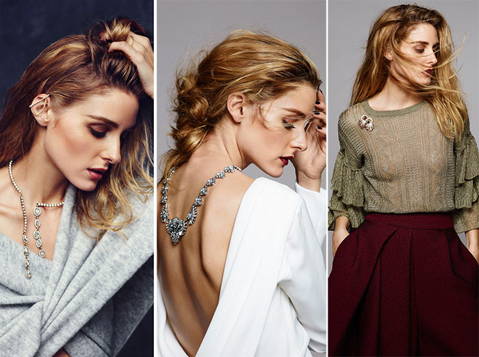 Olivia Palermo for BaubleBar Holiday 2015 Collection