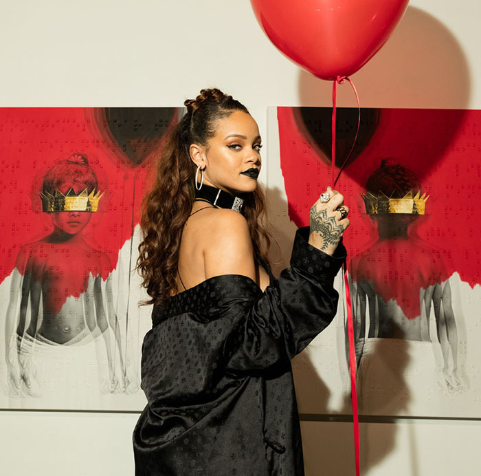 Rihanna Fr8me Beauty and Style Agency