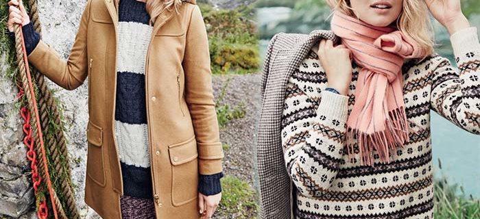 Toni Garrn Looks Cozy and Chic in J.Crew's Winter 2015 Lookbook