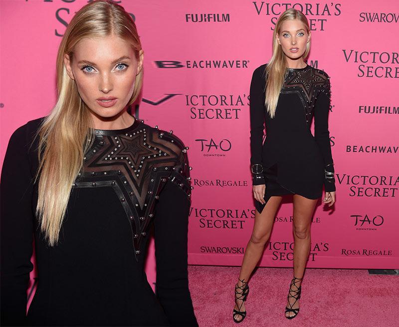 Victoria's Secret Fashion Show 2015 Pink Carpet: Elsa Hosk