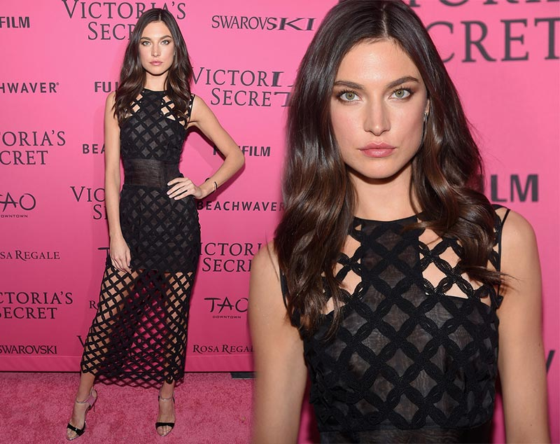Victoria's Secret Fashion Show 2015 Pink Carpet: Jacquelyn Jablonski