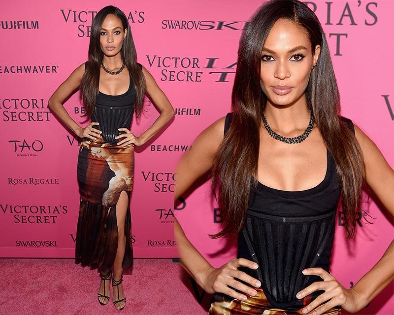 Victoria's Secret Fashion Show 2015 Pink Carpet: Joan Smalls