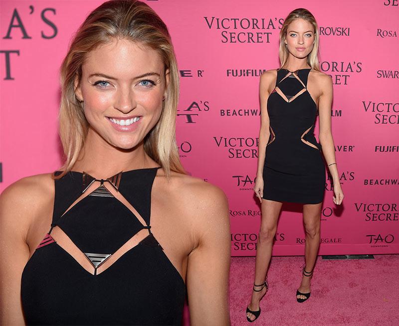 Victoria's Secret Fashion Show 2015 Pink Carpet: Martha Hunt