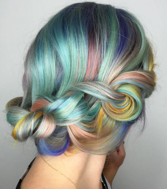 Pastel Macaron Hairstyles
