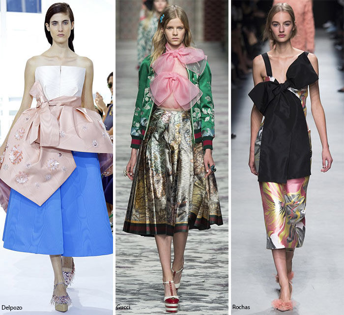 Spring/ Summer 2016 Fashion Trends: Bows