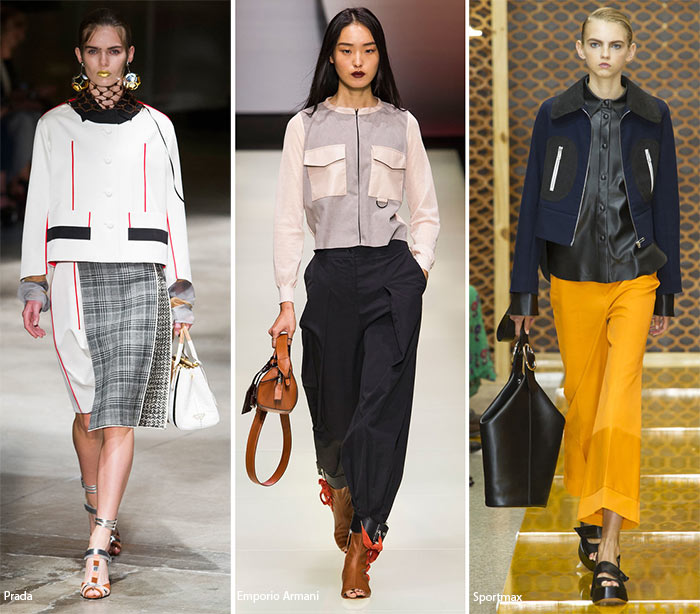Spring/ Summer 2016 Fashion Trends: Boxy Jackets