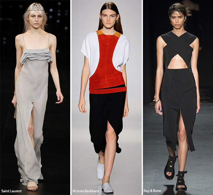 Spring/ Summer 2016 Fashion Trends: Center Slits