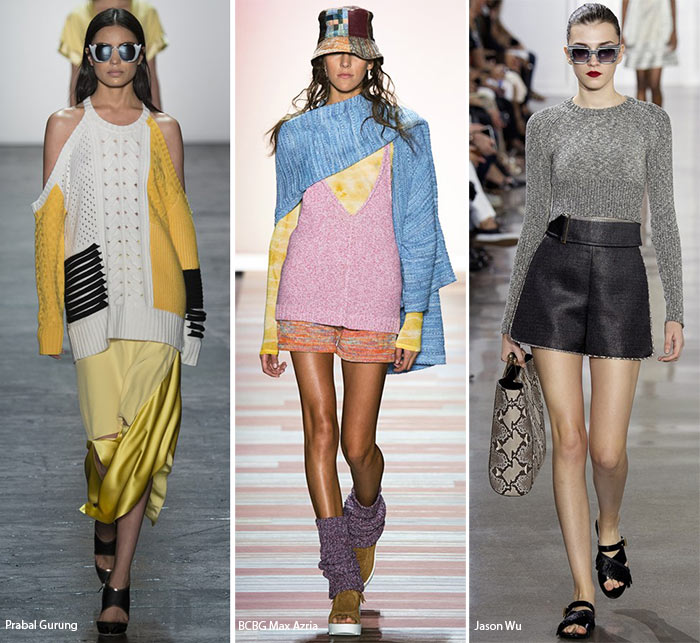 Spring/ Summer 2016 Fashion Trends: Corded/ Marled Knits