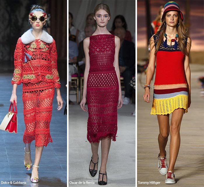 Spring/ Summer 2016 Fashion Trends: Crochet