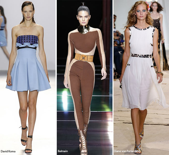 Spring/ Summer 2016 Fashion Trends: Focus On The Waist