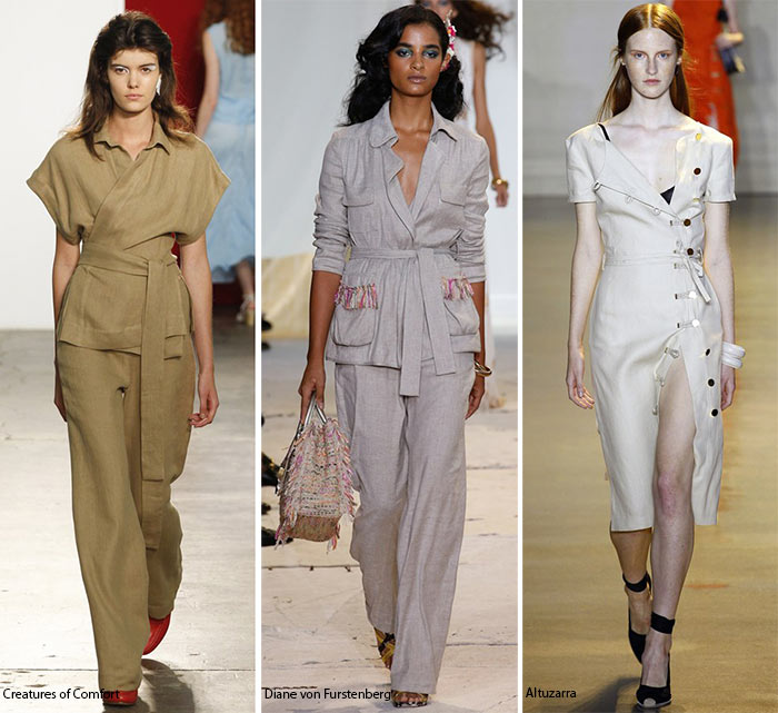 Spring/ Summer 2016 Fashion Trends: Linen
