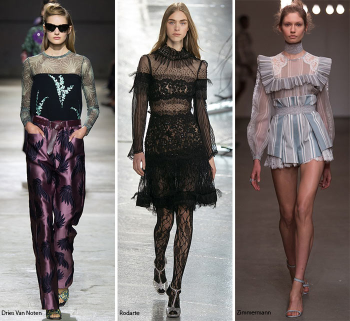 Spring/ Summer 2016 Fashion Trends: Long Sheer Sleeves