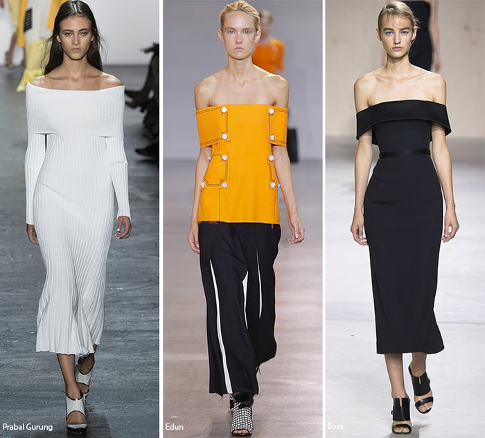 Spring/ Summer 2016 Fashion Trends: Off-The-Shoulder